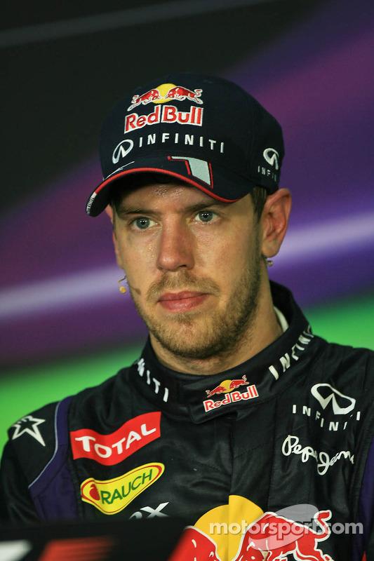 Coletiva pós-corrida, Mark Webber, Red Bull Racing, segundo