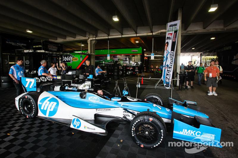De auto van Simon Pagenaud, Schmidt-Hamilton Motorsports Honda