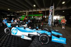 Car of Simon Pagenaud, Schmidt-Hamilton Motorsports Honda
