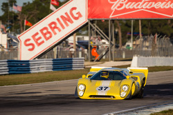 #37 1969 Lola T70MKIIIB: Dan Mershon, Randy Stegall