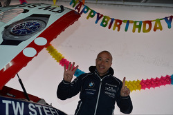 Tom Coronel, BMW E90 320 TC, ROAL Motorsport, birthday