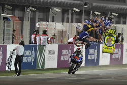 Jorge Lorenzo, Yamaha Factory Racing passeert de finish
