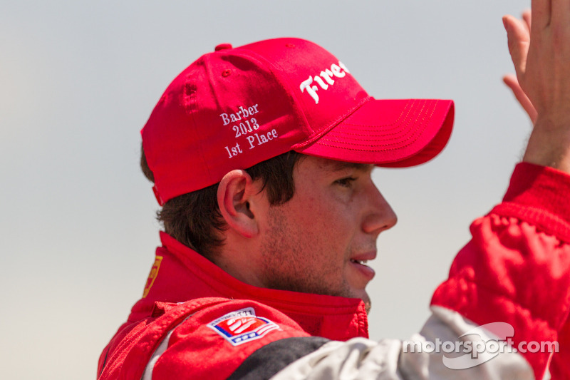 Carlos Munoz, Andretti Autosport, winnaar