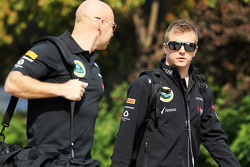 Kimi Raikkonen, Lotus F1 Team with Mark Arnall, Personal Trainer