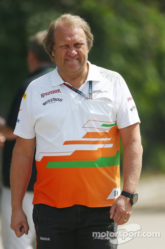 Robert Fernley, Sahara Force India F1 Team Sub-chefe de equipe