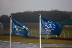 WEC and ACO flags flying