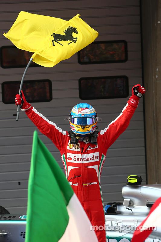 primeiro colocado: Fernando Alonso, Ferrari