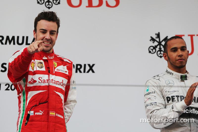 Fernando Alonso, 1º en el GP de China 2013