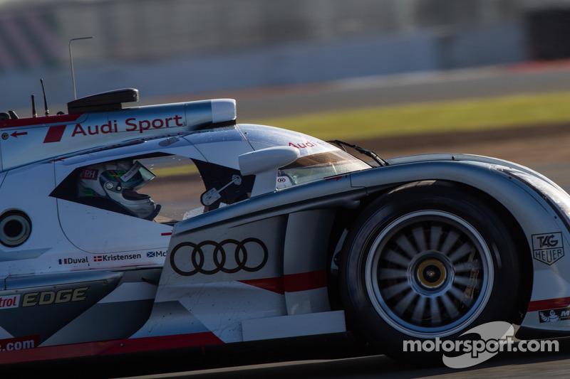#2 Audi Sport Team Joest Audi R18 e-tron quattro: Allan McNish, Tom Kristensen, Loic Duval