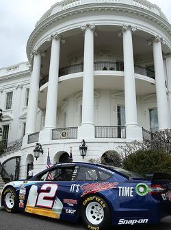 Brad Keselowski's auto voor het Witte Huis