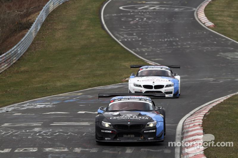 Claudia Hurtgen, Jens Klingmann, Martin Tomczyk, BMW Team Schubert, BMW Z4 GT3 Dirk Müller, Jörg Mül