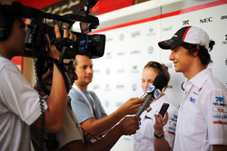 Esteban Gutierrez, Sauber com a mídia