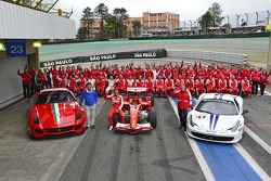 Drivers group shot