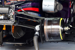 Mark Webber, Red Bull Racing RB9 brake detail