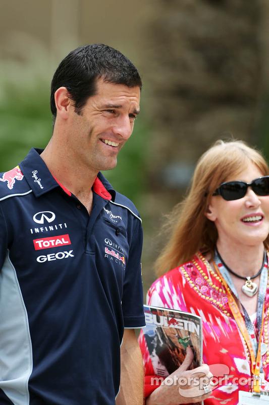 Mark Webber, Red Bull Racing com Helen Stewart