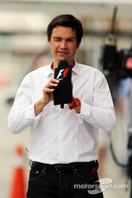 Thomas Senecal, Canal+ F1 Chief Editor e repórter de TV