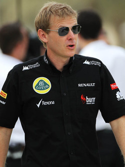 Andy Stobart, Lotus F1 Team Press Officer