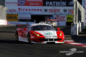 Townsend Bell in Ferrari F458 Italia at 2013 Long Beach race