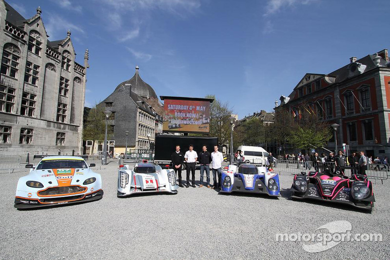 Aston Martin Vantage V8, Audi R18 e-tron quattro, Toyota TS030-Hybrid en Oak Racing Morgan Nissan