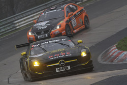 Thomas Jäger, Klaus Graf, Kenneth Heyer, Nico Bastian, ROWE RACING, Mercedes-Benz SLS AMG GT3