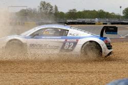 Rodada de #82 Team Saintéloc Racing BR Performance Audi R8 LMS Ultra: Jean-Marc Quintois, Mathieu Ja