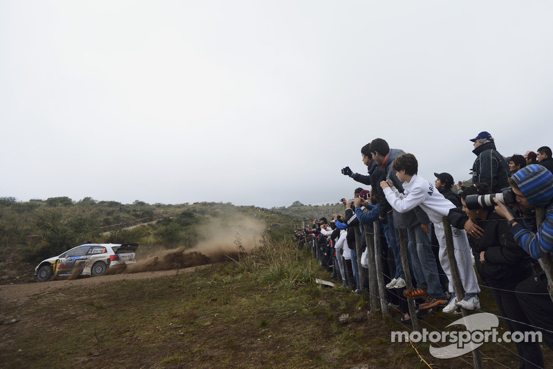 Andreas Mikkelsen en Mikko Markkula, Volkswagen Polo WRC, Volkswagen Motorsport