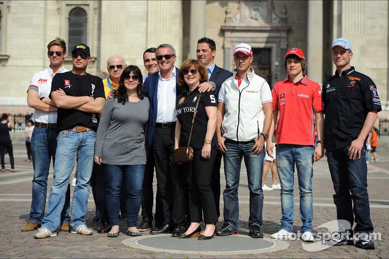 (L naar R) Tom Chilton, Chevrolet Cruze 1.6 T, RML, Robert Huff, SEAT Leon WTCC, ALL-INKL.COM Münnic