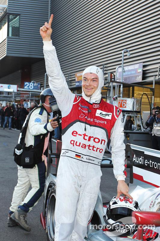 Race winner Andre Lotterer