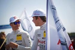 Timo Scheider Audi Sport Team ABT Sportsline Audi A5 DTM and Adrien Tambay Audi Sport Team Abt Audi A5 DTM