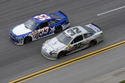 Landon Cassill and Terry Labonte