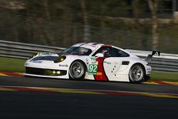 #92 Porsche AG Team Manthey Porsche 911 RSR: Marc Lieb, Richard Lietz, Romain Dumas