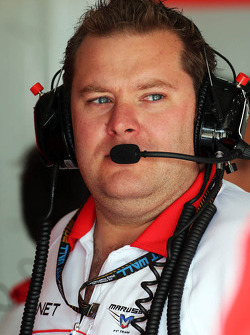 Dave Greenwood, engenheiro da Marussia F1 Team Racing