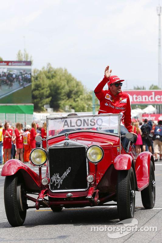 Fernando Alonso, Ferrari na parada de pilotos