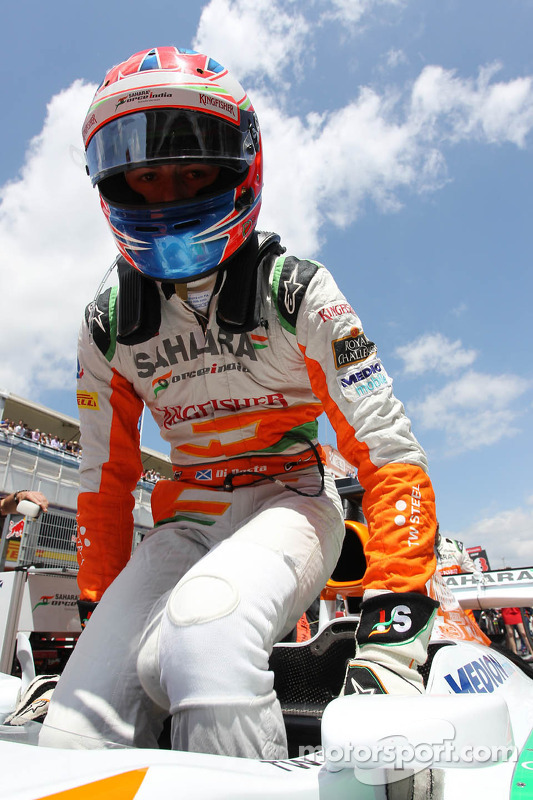 Paul di Resta, Sahara Force India VJM06 no grid