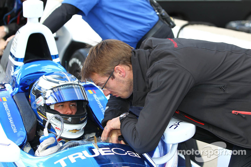 Sebastian Saavedra, Dragon Racing Chevrolet and Sébastien Bourdais, Dragon Racing Chevrolet