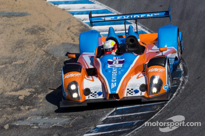 #8 BAR1 Motorsports Oreca FML09: Kyle Marcelli, Chris Cumming