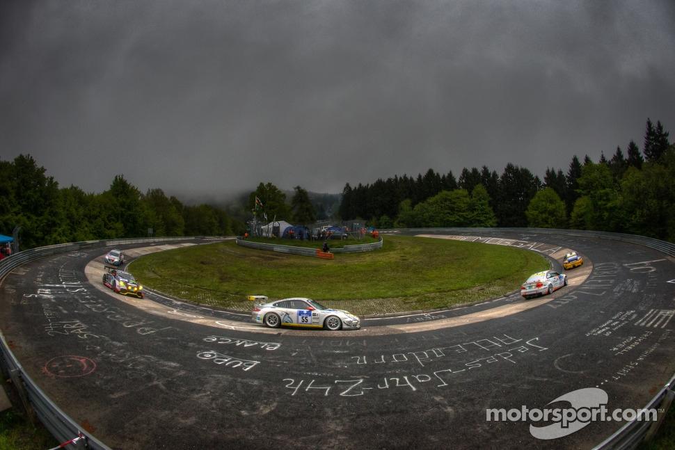 #55 Black Falcon Porsche 911 GT3 Cup (SP7): David Jahn, Steve Jans, Hannes Plesse, Maik Rosenberg