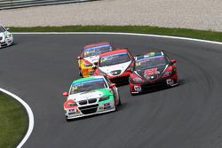 Stefano Daste, BMW 320 TC, PB Racing e Marc Basseng, SEAT Leon WTCC, ALL-INKL.COM Münnich Motorsport