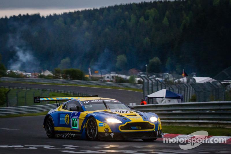 #7 Aston Martin Racing Aston Martin Vantage GT3 (SP9): Darren Turner, Stefan Mücke, Allan Simonsen, Pedro Lamy