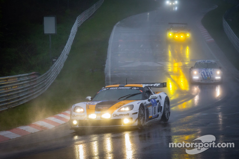 #81 Guttroff-Corvette Corvette C6 (SP8): Tobias Guttroff, Joachim Kiesch