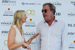 Джеремі Кларксон та Соні Ірвайн на Amber Lounge Fashion Show