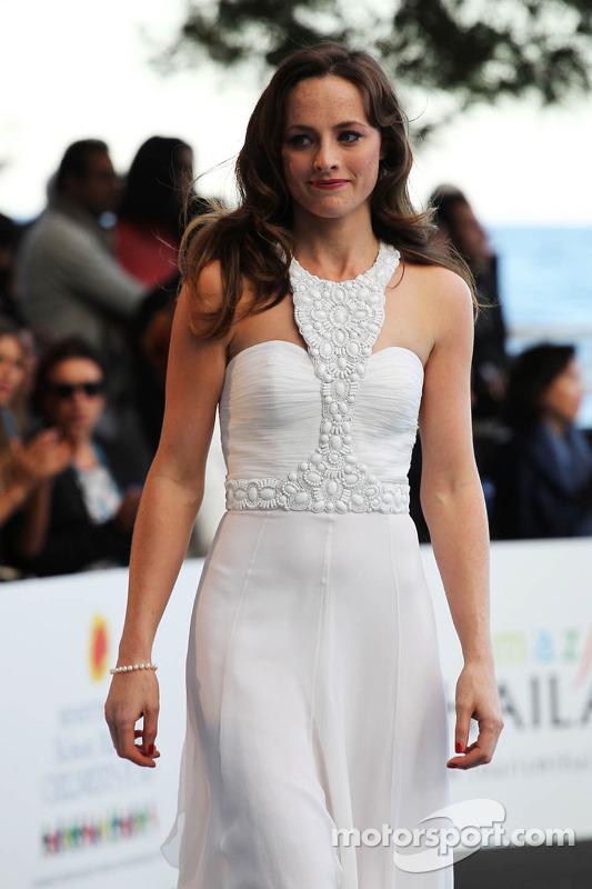 Laura Jordan, namorada do Paul di Resta, Sahara Force India F1, na Amber Lounge Fashion Show