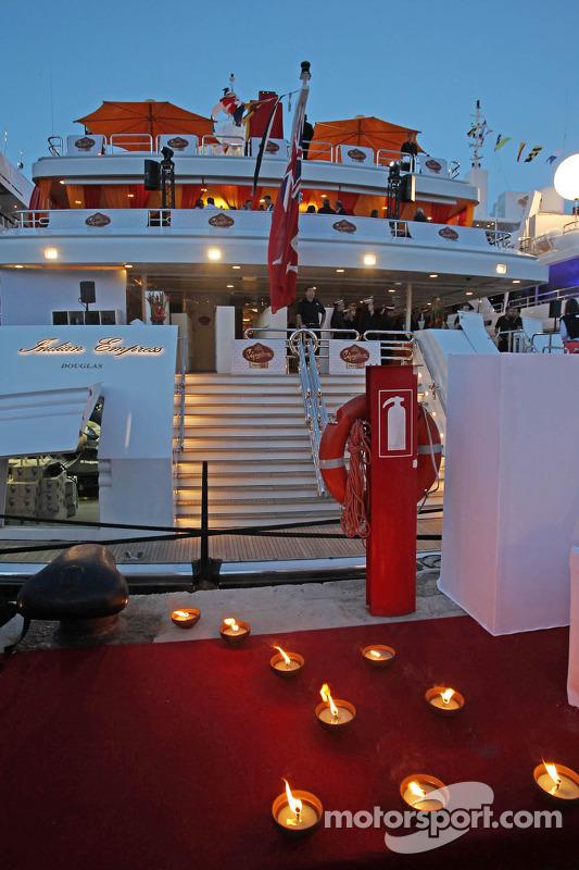 Indian Empress, palco do Signature F1 Monaco Party