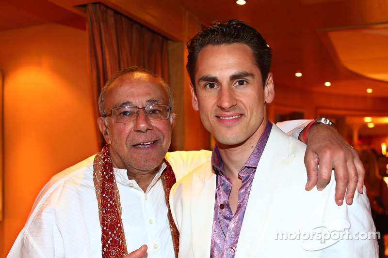 Adrian Sutil, Sahara Force India F1 at the Signature F1 Monaco Party