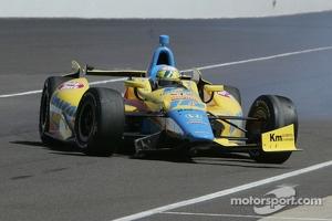 Trouble for Ana Beatriz, Dale Coyne Racing Honda