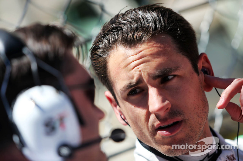 Adrian Sutil, Sahara Force India F1 met Bradley Joyce, Sahara Force India F1 Race Engineer op de gri