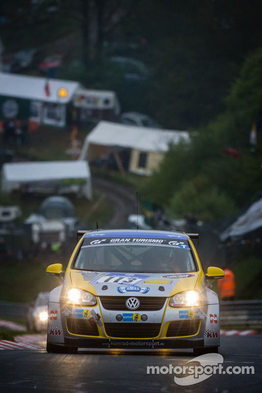 #113 STL Sport Team Liechtenstein VW Golf R (SP3T): Johann Wanger, Klaus Bauer, Ueli Schlegel
