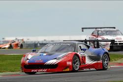 #52 Sport Garage Ferrari 458 Italia: Thierry Stepec, Lionel Comole, Thierry Prignaud