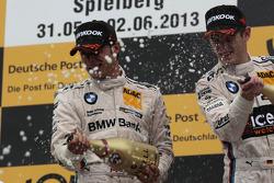 Bruno Spengler, BMW Team Schnitzer BMW M3 DTM and Marco Wittmann, BMW Team MTEK BMW M3 DTM
