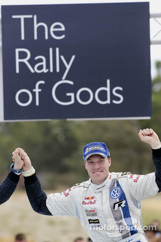 Winnaar Jari-Matti Latvala, Volkswagen Polo WRC, Volkswagen Motorsport